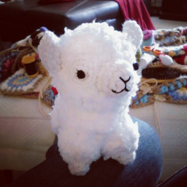 #crochet #amigurumi #alpaca is done! Hes for a trade with ...