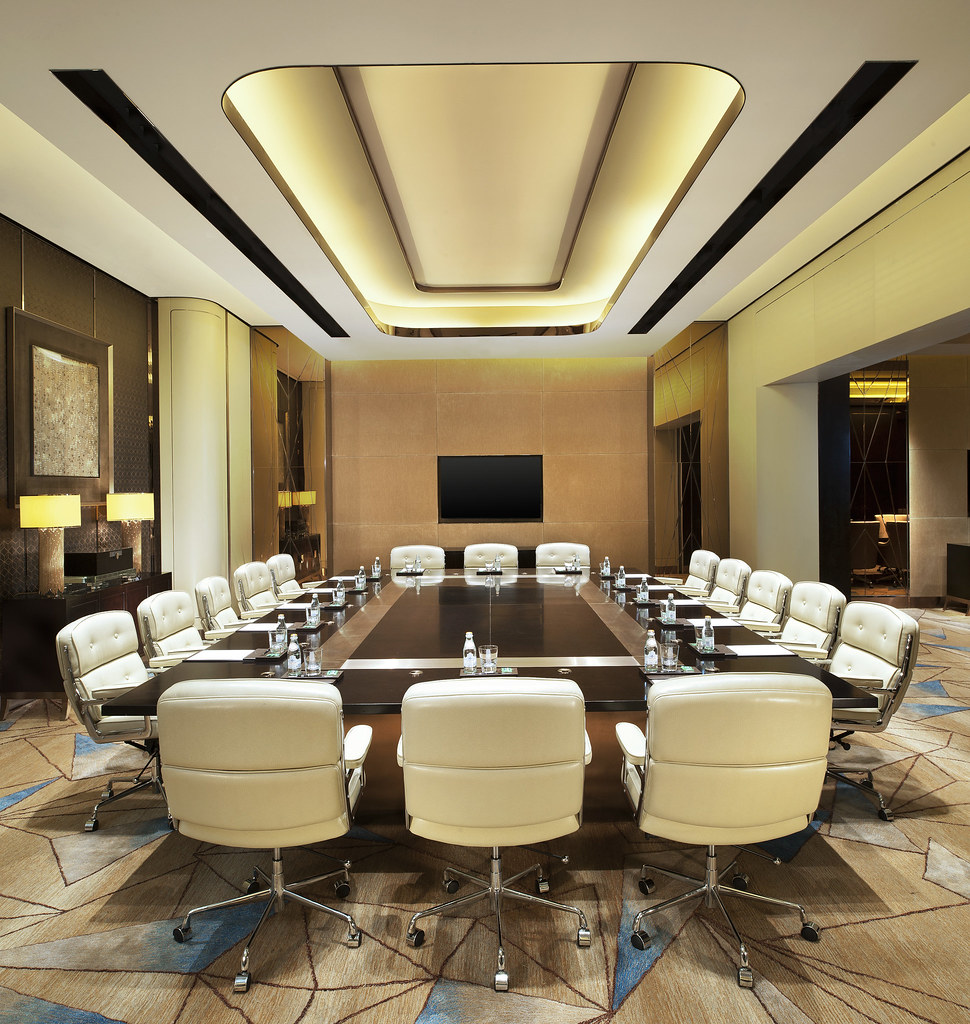The st regis shenzhen meeting boardroom meeting for Hotel design course