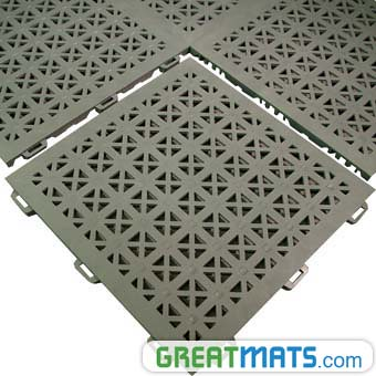 Outdoor Floor Tile Staylock Perforated Www Greatmats Com