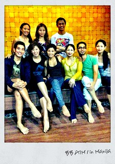 BODYBALANCE AIM1 batch w/ trainer Riyo Fukunaga | by NoelleDeGuzman