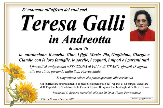 Galli Teresa