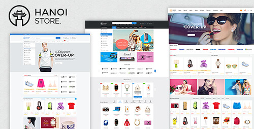 yahoo ecommerce templates - hanoistore supermarket ecommerce prestashop template on
