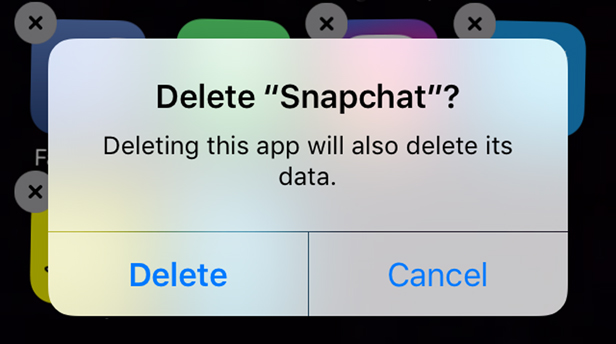 Making the decision to delete Snapchat because it's too political