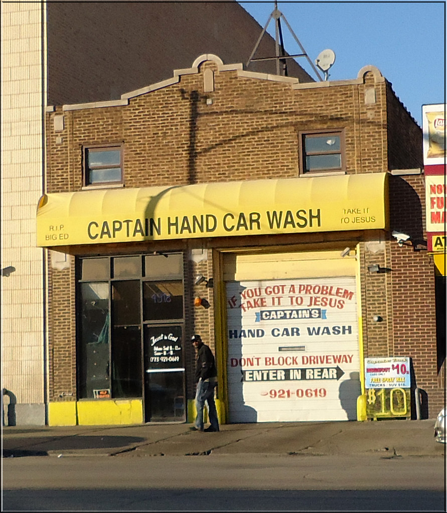 Captain Hand Car Wash, 4918 W Madison Street, Chicago, Ill