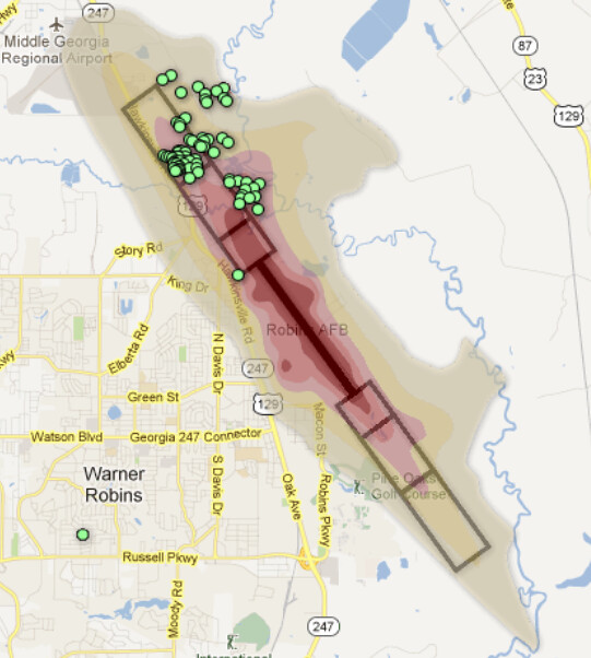 Warner Robins Air Force Base Encroachment Zones Houston Co Flickr