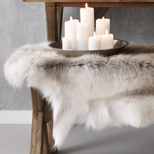 Reindeer Skin Rug | By The Style Files U2026