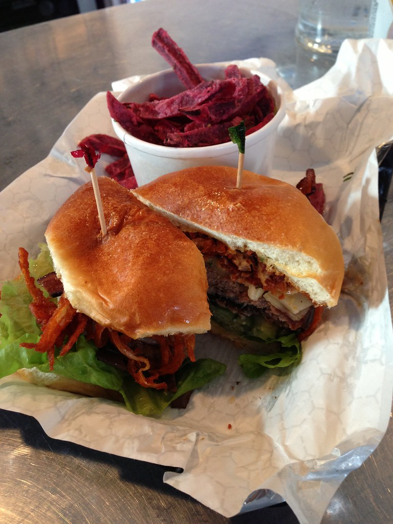 The Kitchen Sink Burger at Grass Fed | I Ate the Kitchen Sin… | Flickr