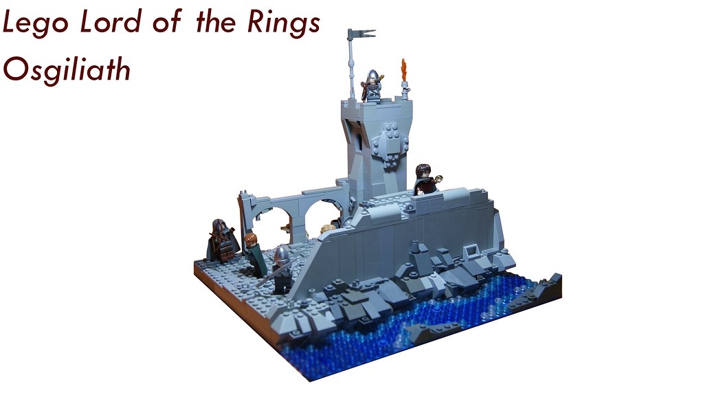Lego Lord Of The Rings Battle Of Osgiliath