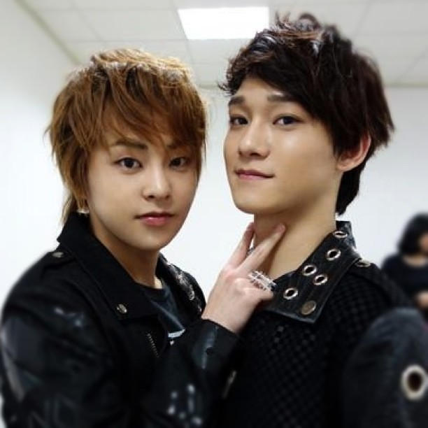 Xiumin & Chen~ ^^ ...