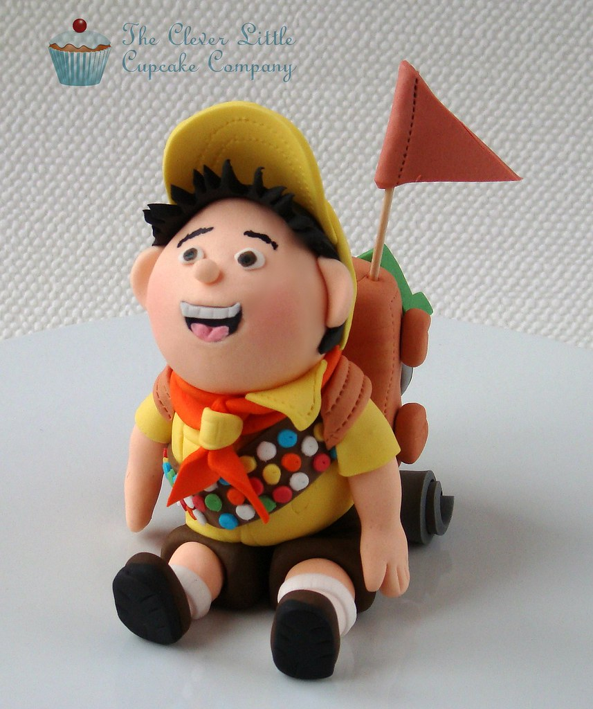 Russell From Up Fondant Figure