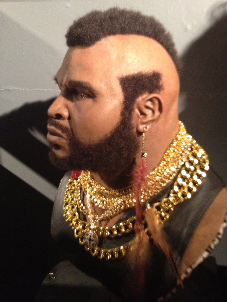 Bust Of Mr T By Jacob Roanhaus From Conjoined Iii At Co Flickr