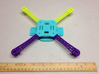 Printed Micro Quadcopter | by jabella