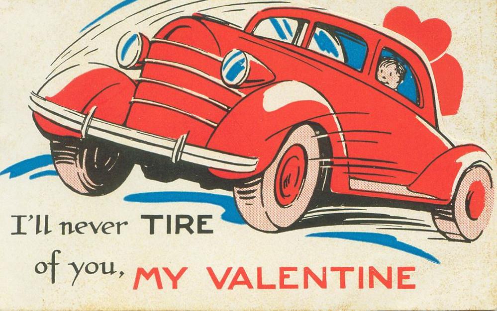 Old Fashioned Car Cartoon