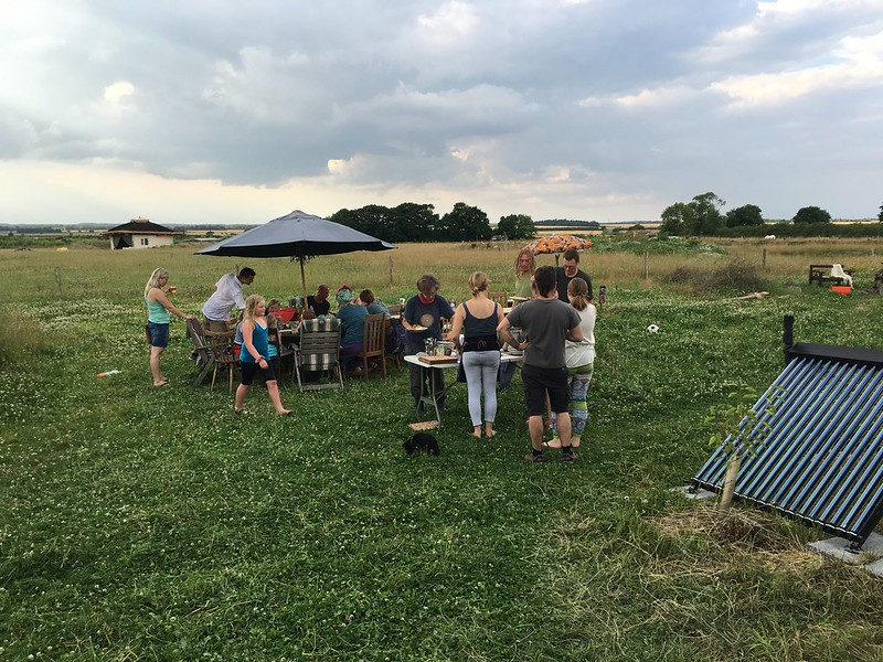 Gathered at The Inkpot, permaculture event
