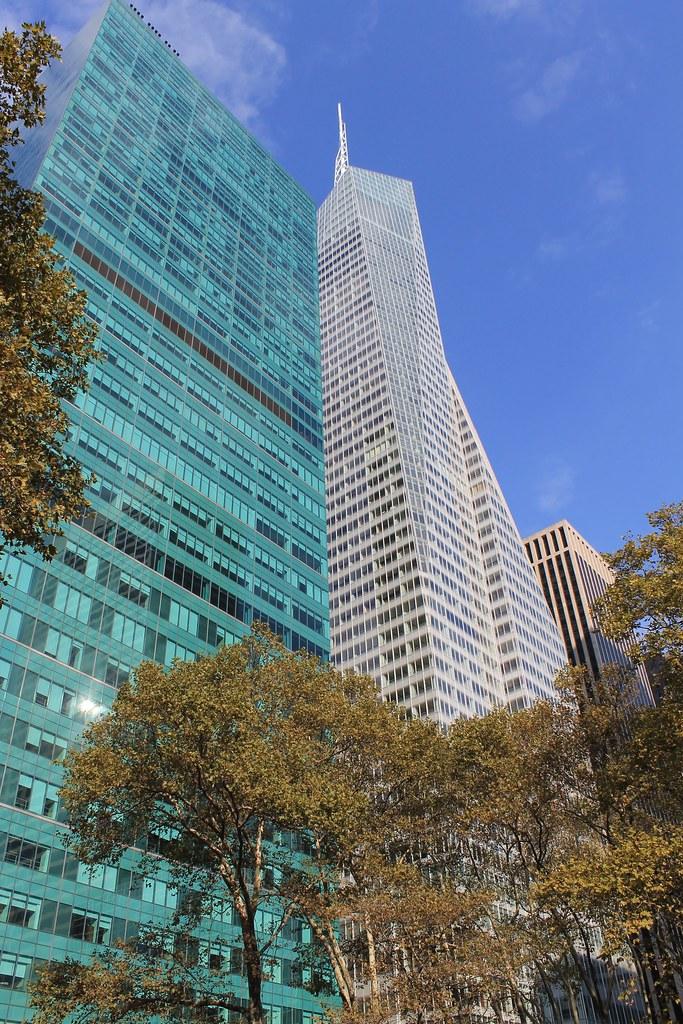 Bryant Park Area - New York City