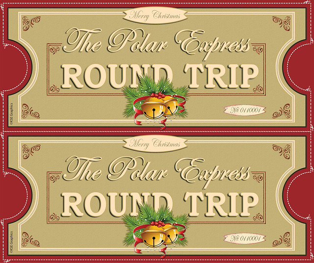 Polar Express tickets FRONT 2up RED | Flickr - Photo Sharing!