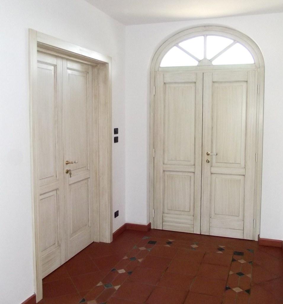 Porta interna e portoncino con sopraluce ad arco linea ope - Porte ad arco ...