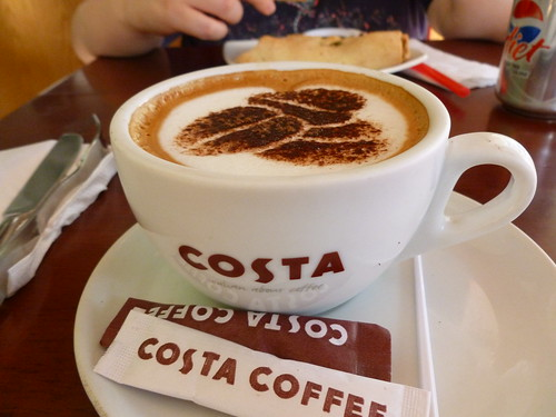 Cappucino @ Costa Coffee