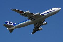 All Nippon Airways (NH/ANA) / 747-481 / JA8958 / 07-04-2010 / HKG