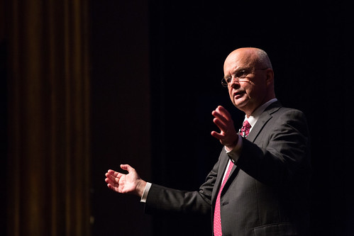 2012 Josh Rosenthal Education Fund Lecture by General Michael Hayden | by University of Michigan's Ford School