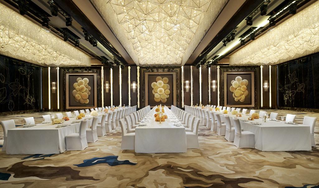 The St Regis Shenzhen Grand Ballroom Dinner Setup Flickr
