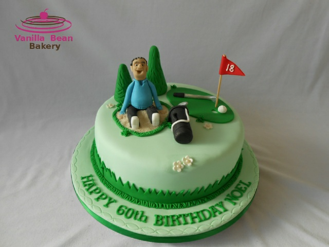 Golf Decorations For Birthday Cake