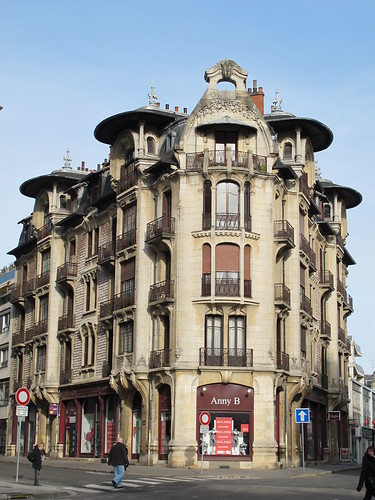 immeuble 1906 9 rue du ch teau dijon 21 architecte flickr. Black Bedroom Furniture Sets. Home Design Ideas