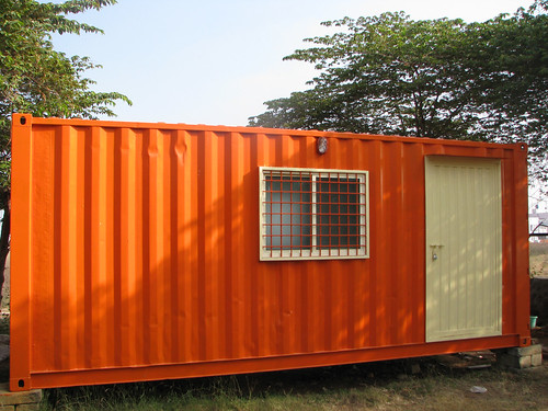 Office_Cum_Home_Container_Exterior1 | by Container Solutions India