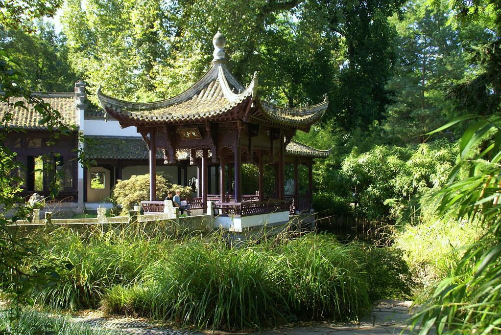 garten frankfurt, frankfurt, chinesischer garten, spiegelpavillon (chinese g… | flickr, Design ideen