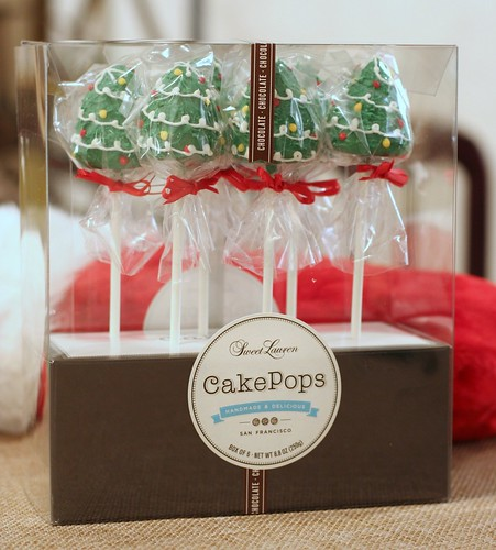 Christmas Tree Cake Pops | by Sweet Lauren Cakes