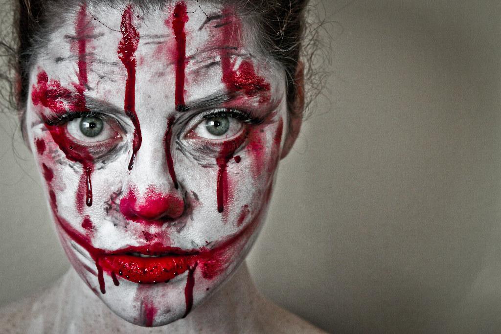 Girl Clowns Faces Sad Clown Face Makeup Girl