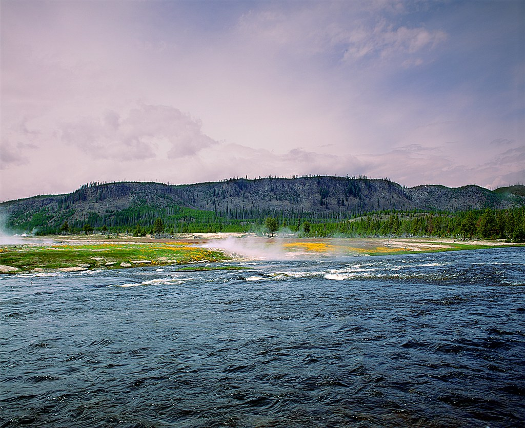 Fly fishing in yellowstone national park game on for Fly fishing yellowstone