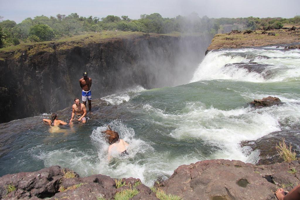 Devil's Pool, Victoria Falls, Zimbabwe