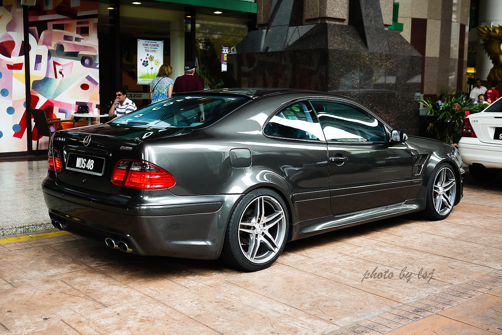mercedes benz clk w208 kuala lumpur mar 2012 flickr. Black Bedroom Furniture Sets. Home Design Ideas