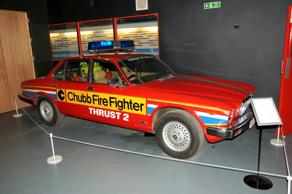 ... 1982 Jaguar Cars Ltd. XJ12 (Thrust 2 LSR Car Fire Tender)   By Gallery