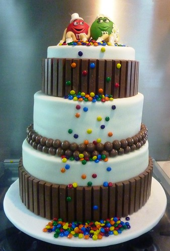 mands wedding cakes m and m wedding cake quot miss quot oc s kitchen flickr 17105