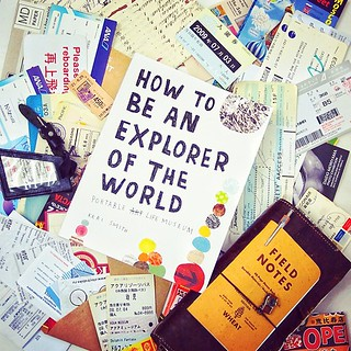 """How to be an Explorer of the World"" finally arrived, great tips to look at things afresh 