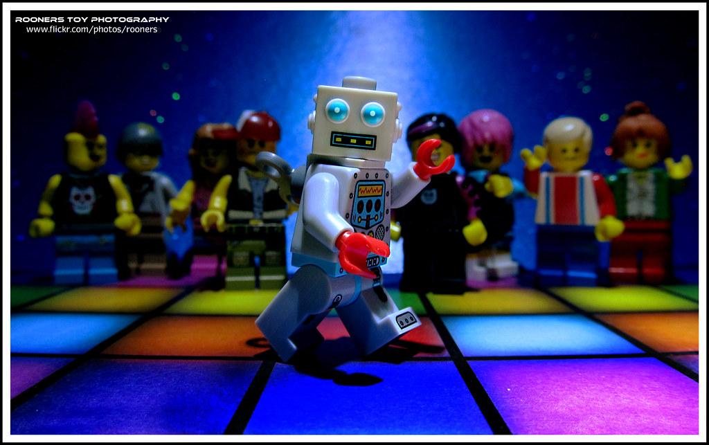 Bob's Disco Dance #36: The Robot | Stand still and start ...