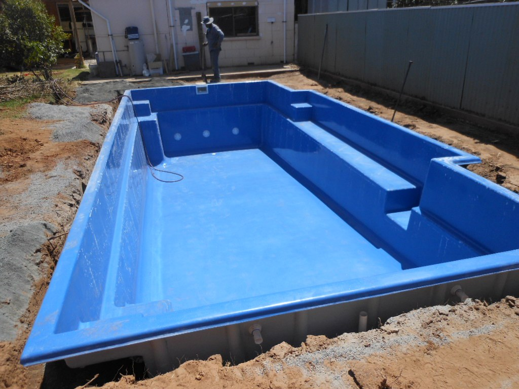 Empty Swimming Pool Used At
