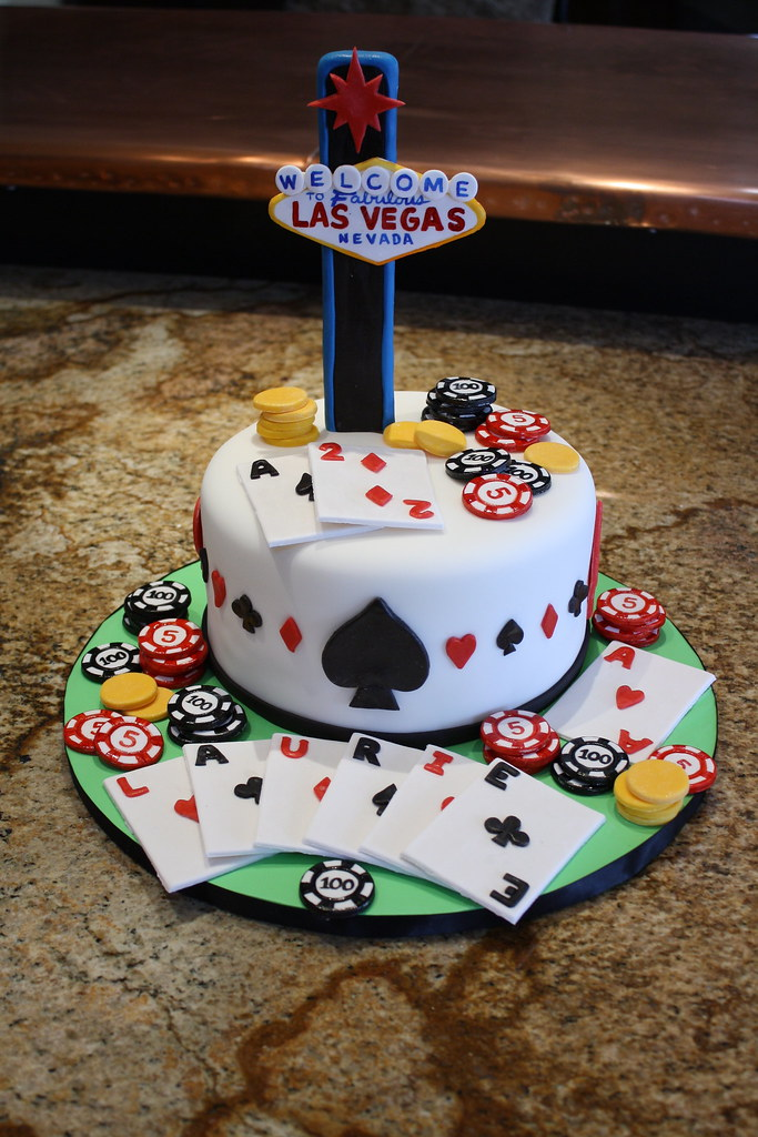 Las Vegas Birthday cake DesignerCakes Flickr