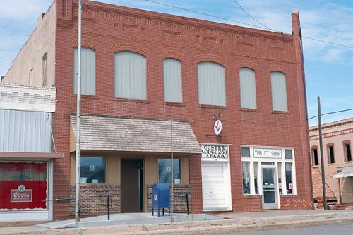 Custer City, OK post office | by PMCC Post Office Photos