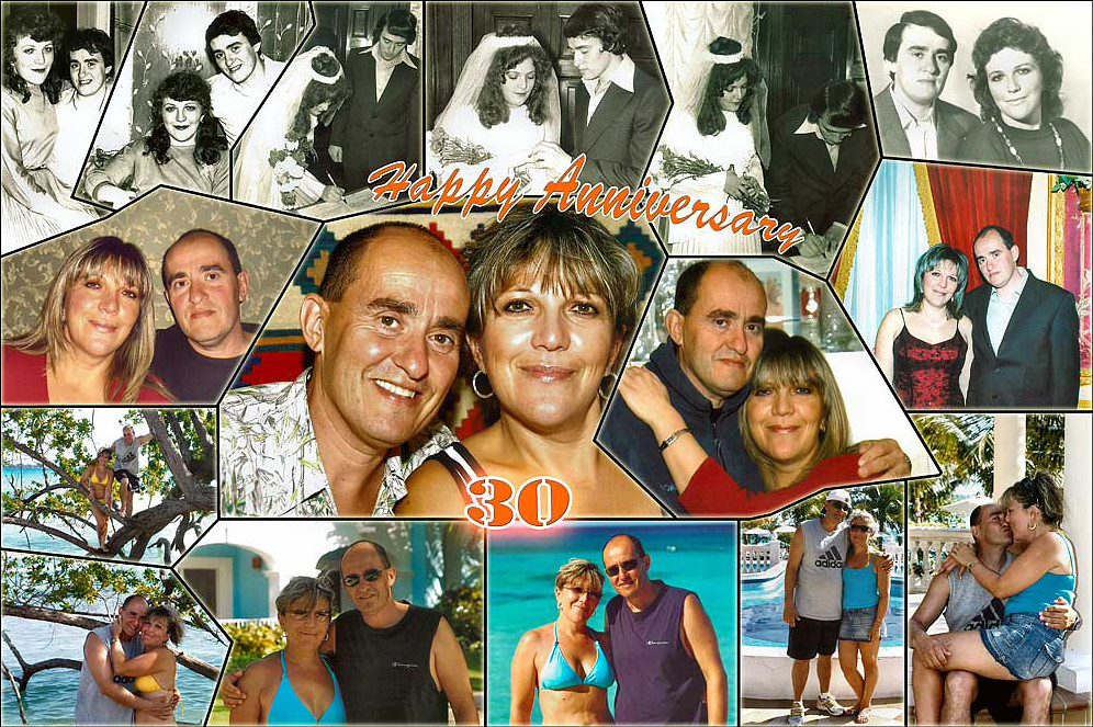 Anniversary Gift for Wife ? Anniversary Photo Collage Flickr