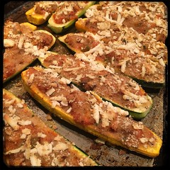 #Stuffed #Zucchini #Bolognese #Homemade #CucinaDelloZio