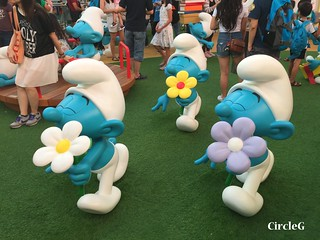 CIRCLEG 遊記 香港  尖沙咀 海港城 藍精靈 HABOUR CITY (17)
