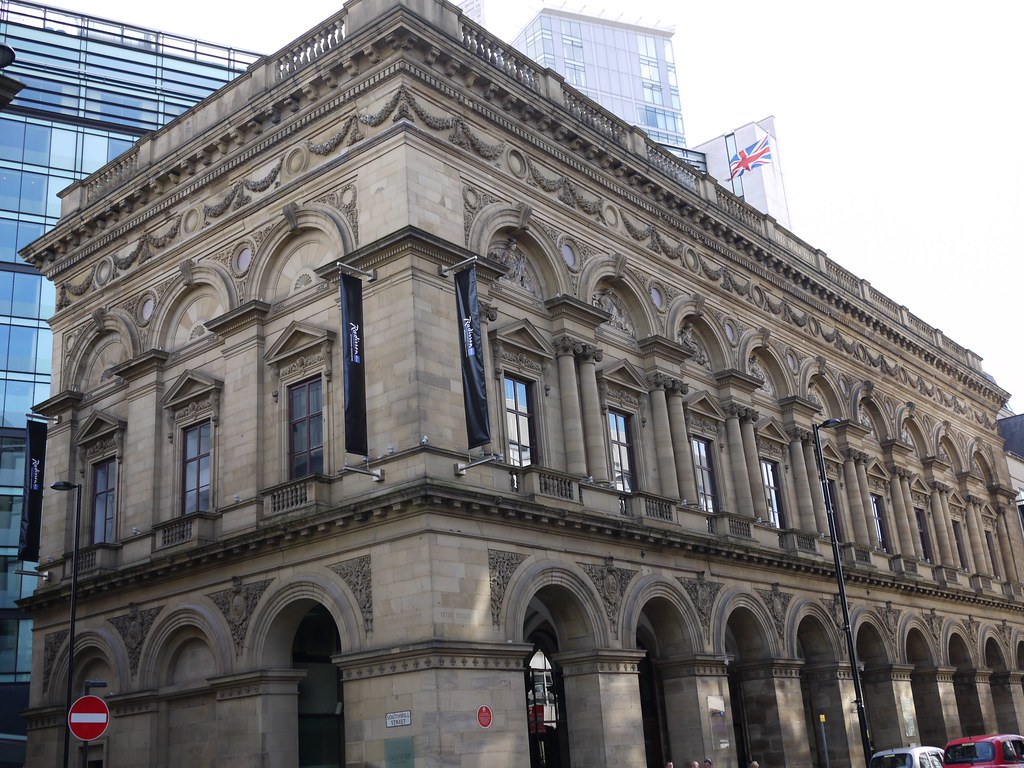 Halle Building Manchester New Alterations Architects