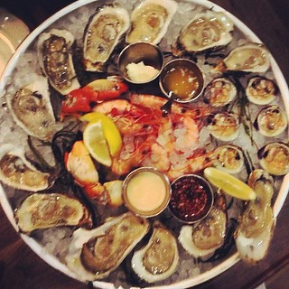 Shellfish platter goes on and on. | by Fuzzco