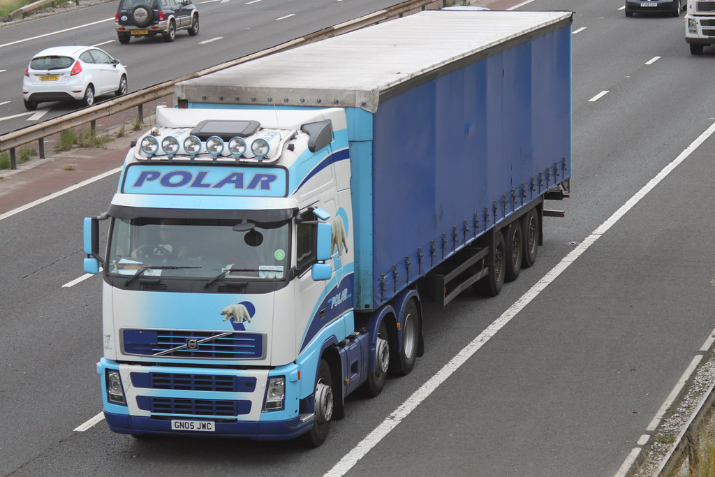 Polar International Transport Of Northern Ireland Volvo FH ...