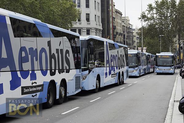 Aerobús, Barcelona