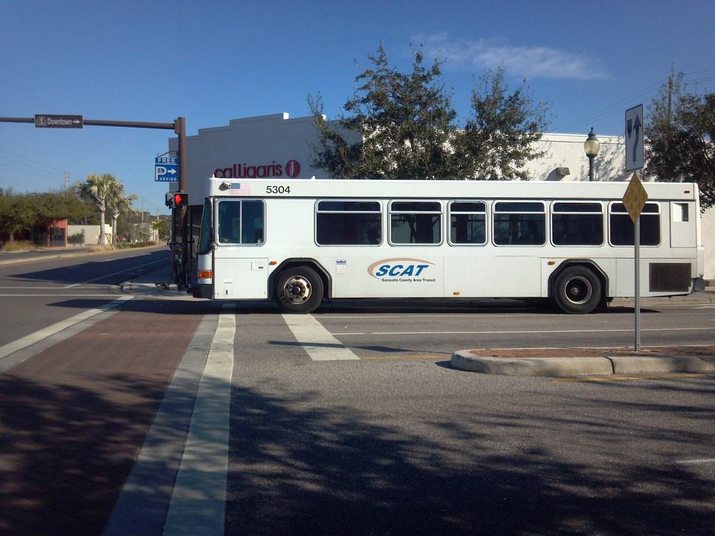 Scat Bus Sarasota County Area Transit Beyonddc Flickr
