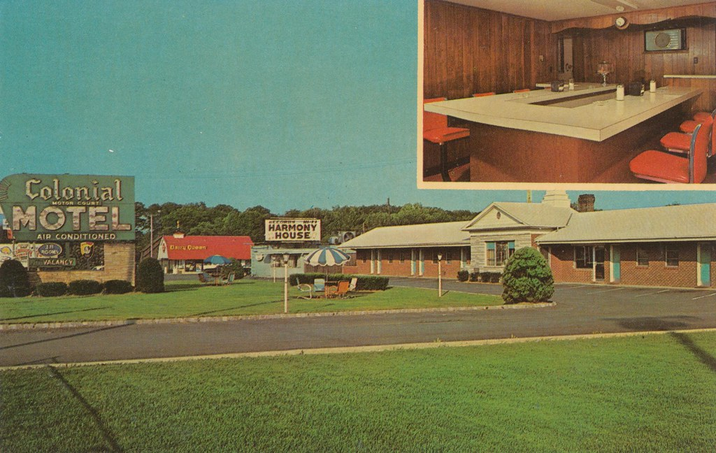 Colonial motor court motel springfield new jersey flickr for Smith motor company nj